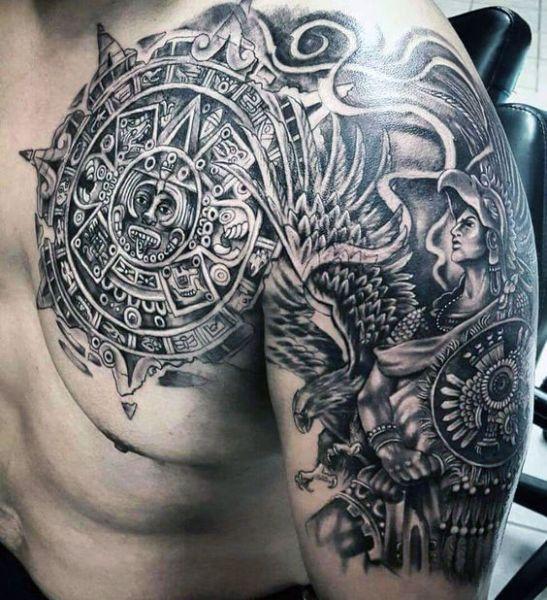 Maori Chest And Arm Tattoo Tattooideasmale Gogus Dovmesi Fake Tattoos Marquesas Dovmeleri