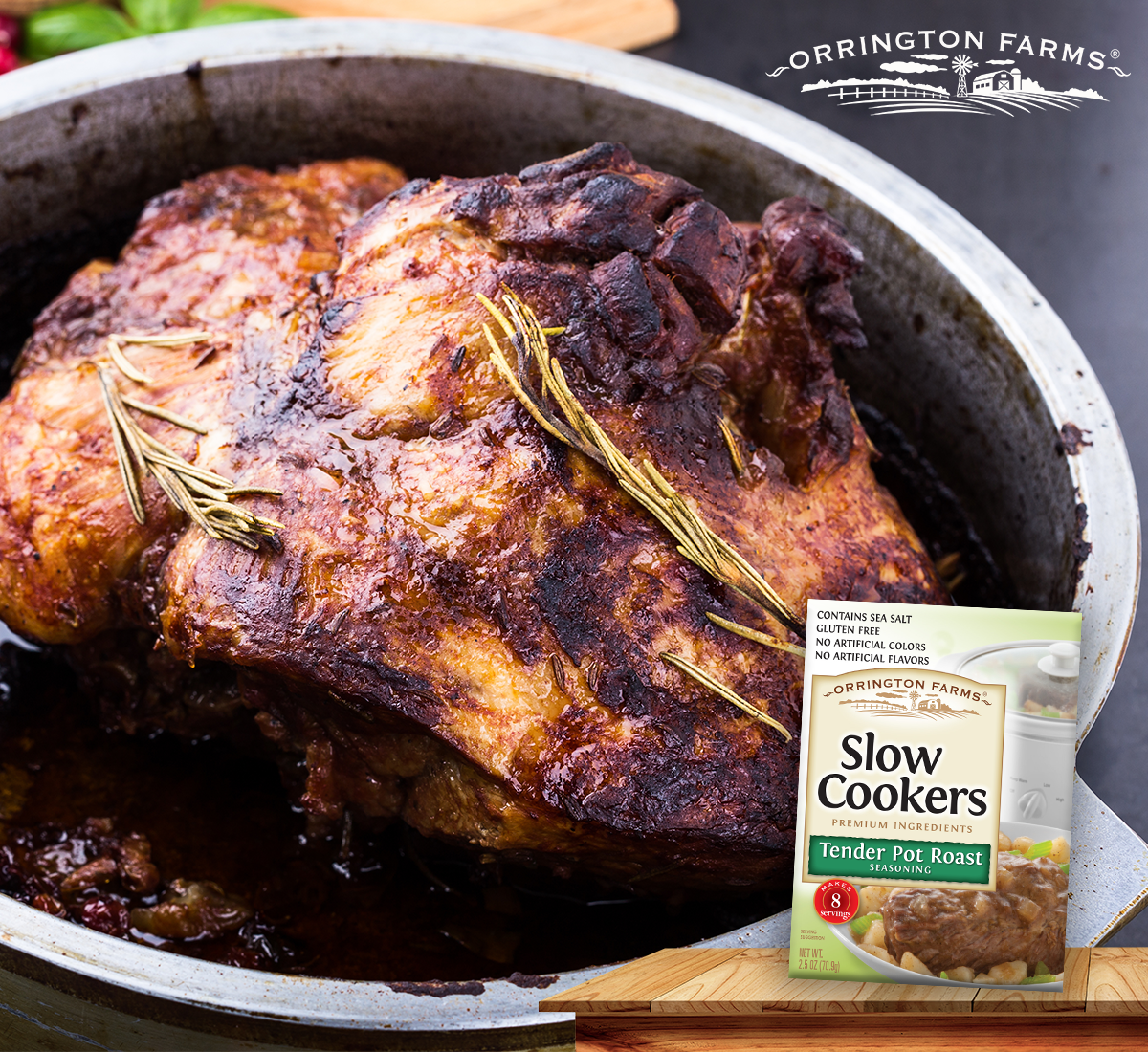 Make The Most Out Of Your Roast And Your Time With Our Tender Pot Roast Slow Cookers Mix Pot Roast Slow Cooker Pot Roast Seasoning
