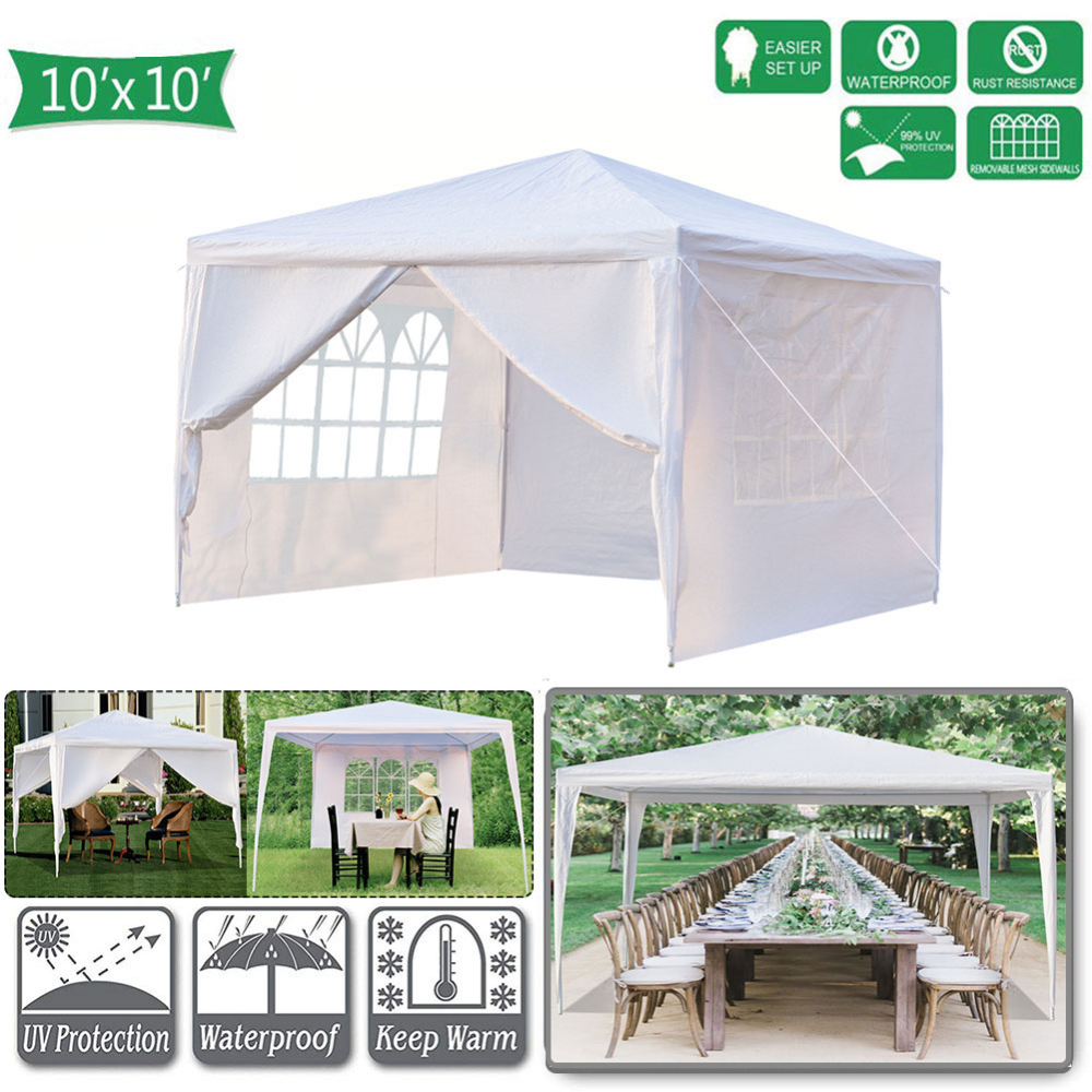 Topcobe 10 X 10 Canopy Tents For Outside Easy Set Up Canopy