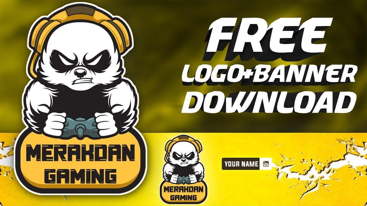 Free Logo And Banner Template Free logo template Panda