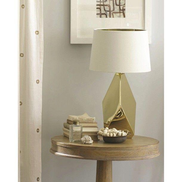Bedroom Lamps Gold Coast: Nate Berkus For Target Gold Lamp