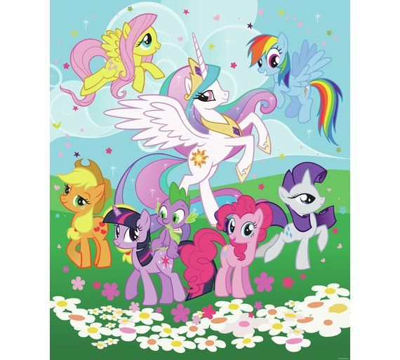 Buy Walltastic My Little Pony Wall Mural At Argos.co.uk, Visit Argos