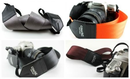 camera straps made out of old seat belts