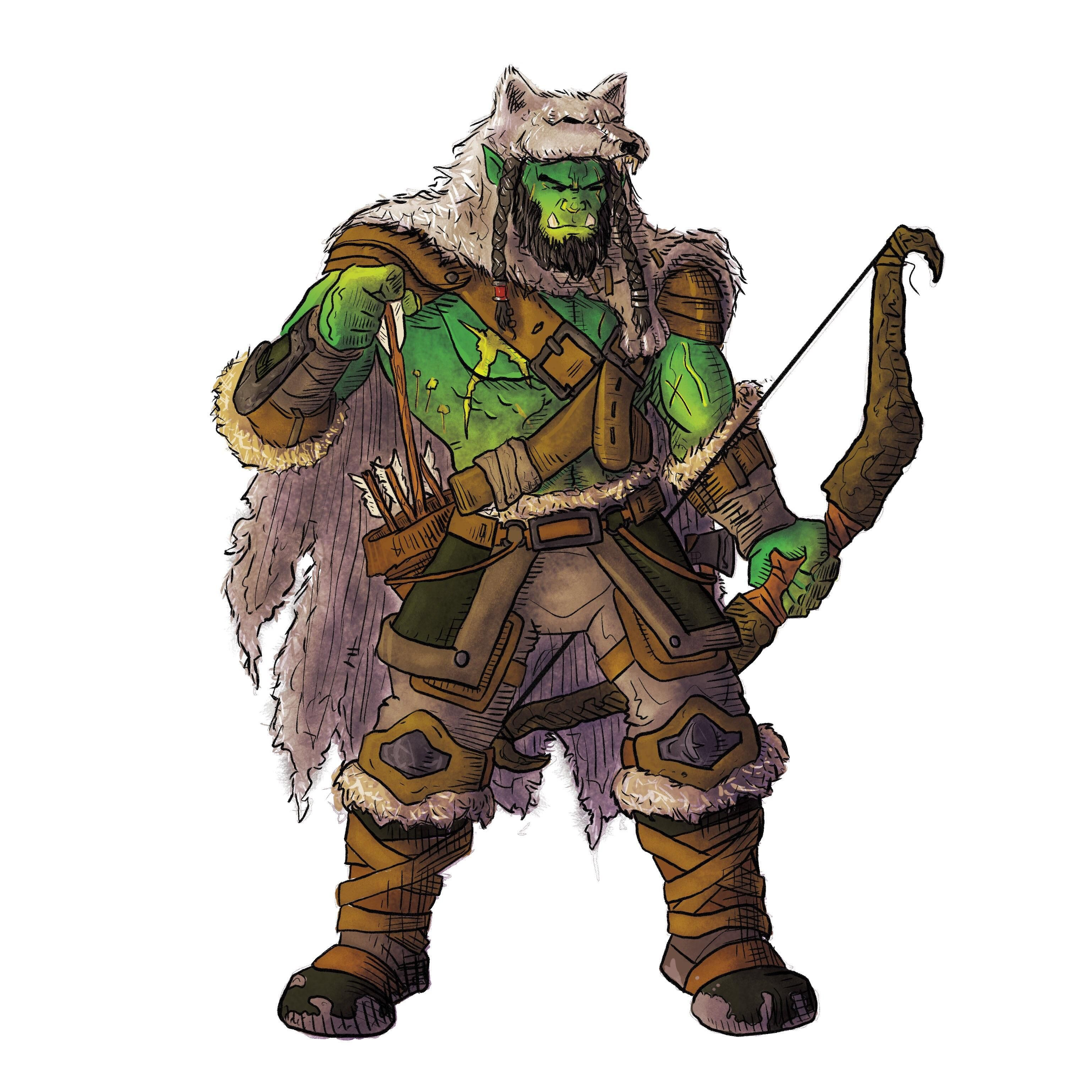 how to play a bear shaman in 4e