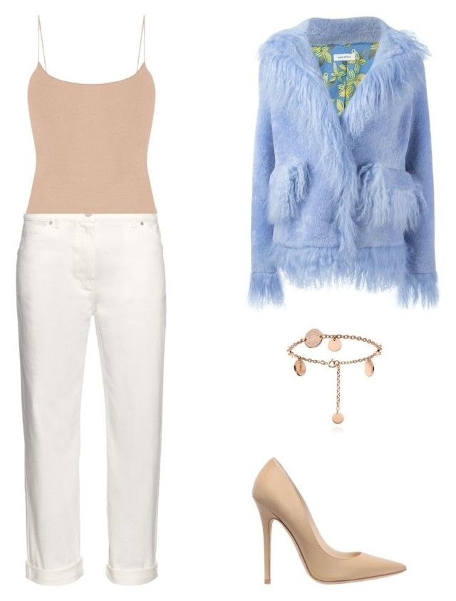 """""""Street Style"""" by julieselmer on Polyvore featuring Saks Potts, Balenciaga and Jimmy Choo"""