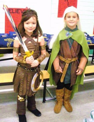 Diy xena and legolas costumes holiday halloween pinterest diy xena and legolas costumes solutioingenieria Image collections