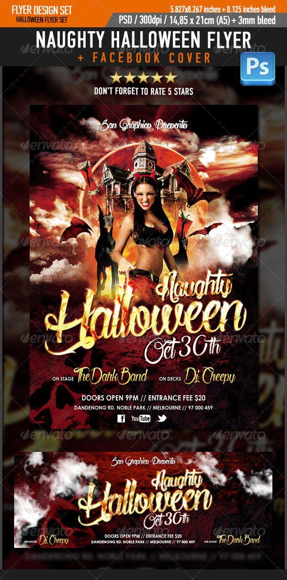 halloween party flyer templates