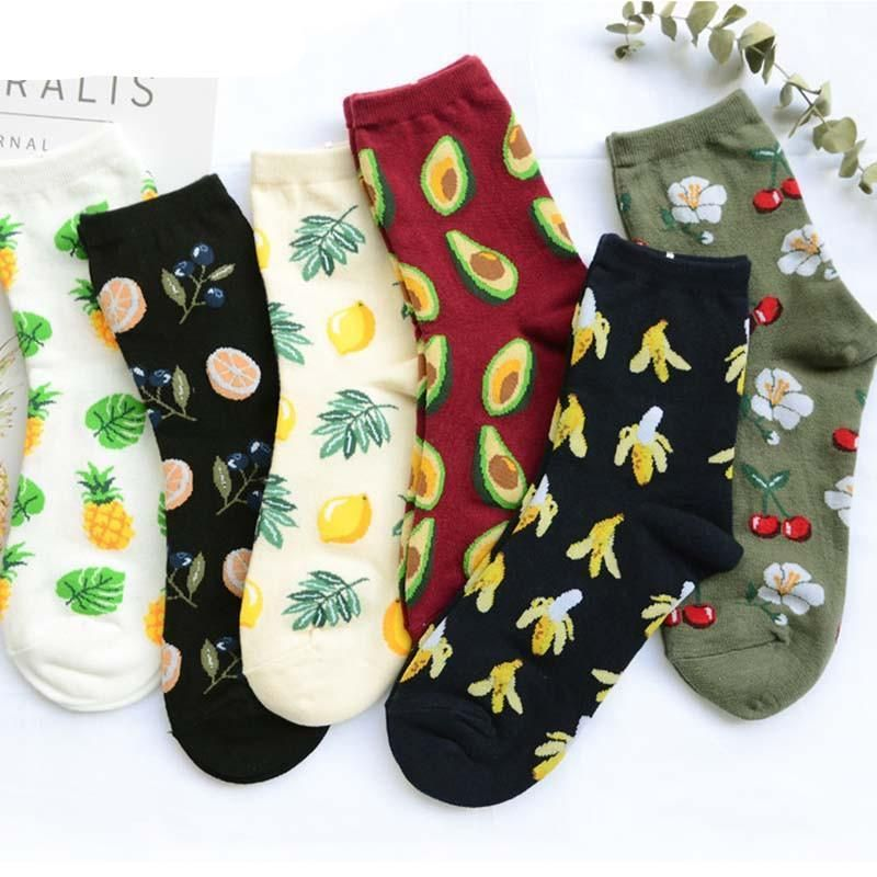 [leggycozy] Fresh Fruits Socks