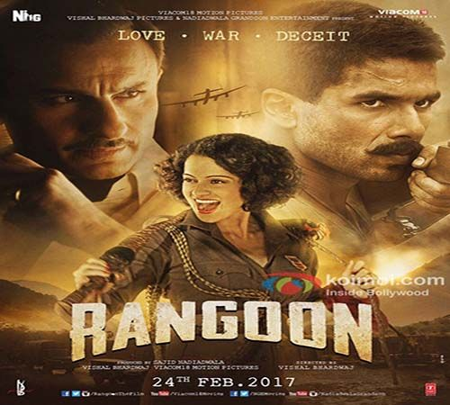 Rangoon Movie Online Watch Free, 2017 Hindi Movies Hd