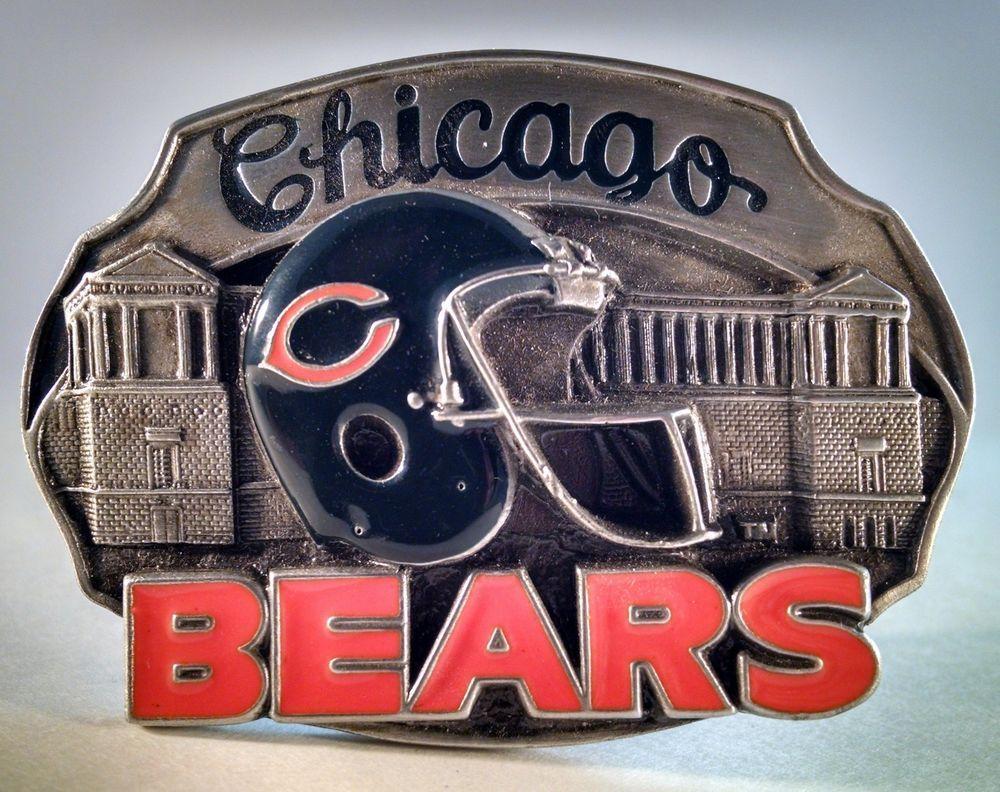 NFL Football Chicago Bears Belt Buckle