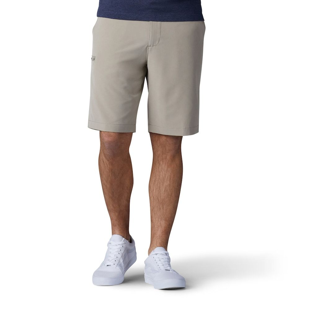 Men S Lee Tri Flex Shorts Size 34 Beig Green Man Lee Men Shorts