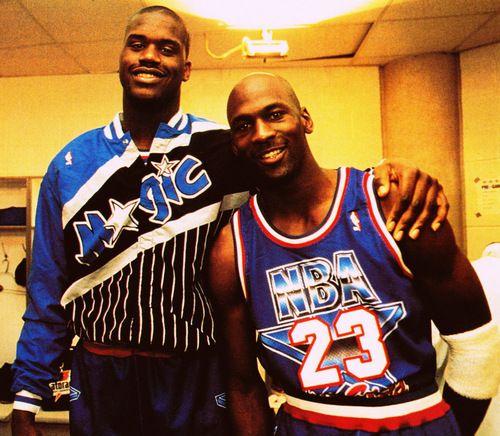 Shaquille O'neal \u0026 Michael Jordan