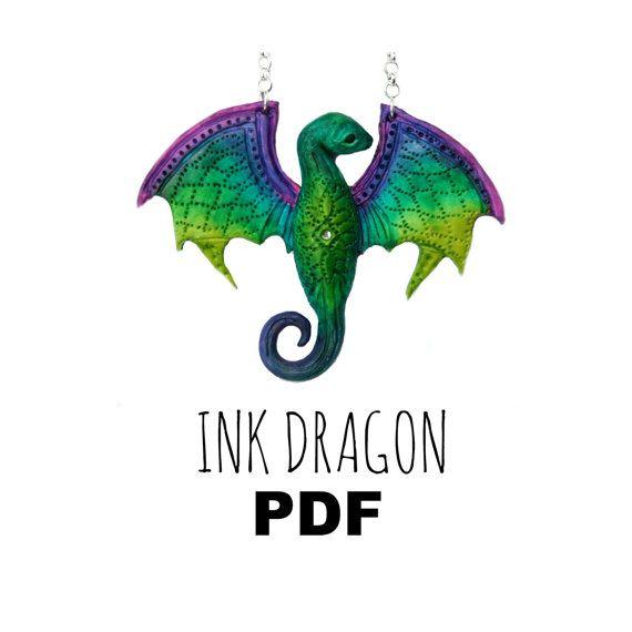 Polymer Clay Tutorial: Fantasy Dragon by VelvetoriumOnline on Etsy