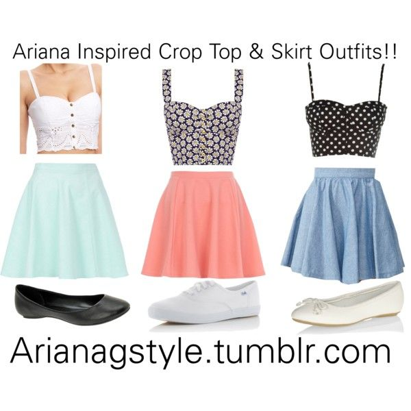 359cb738551c Summer Outfit Ideas with Crop Tops