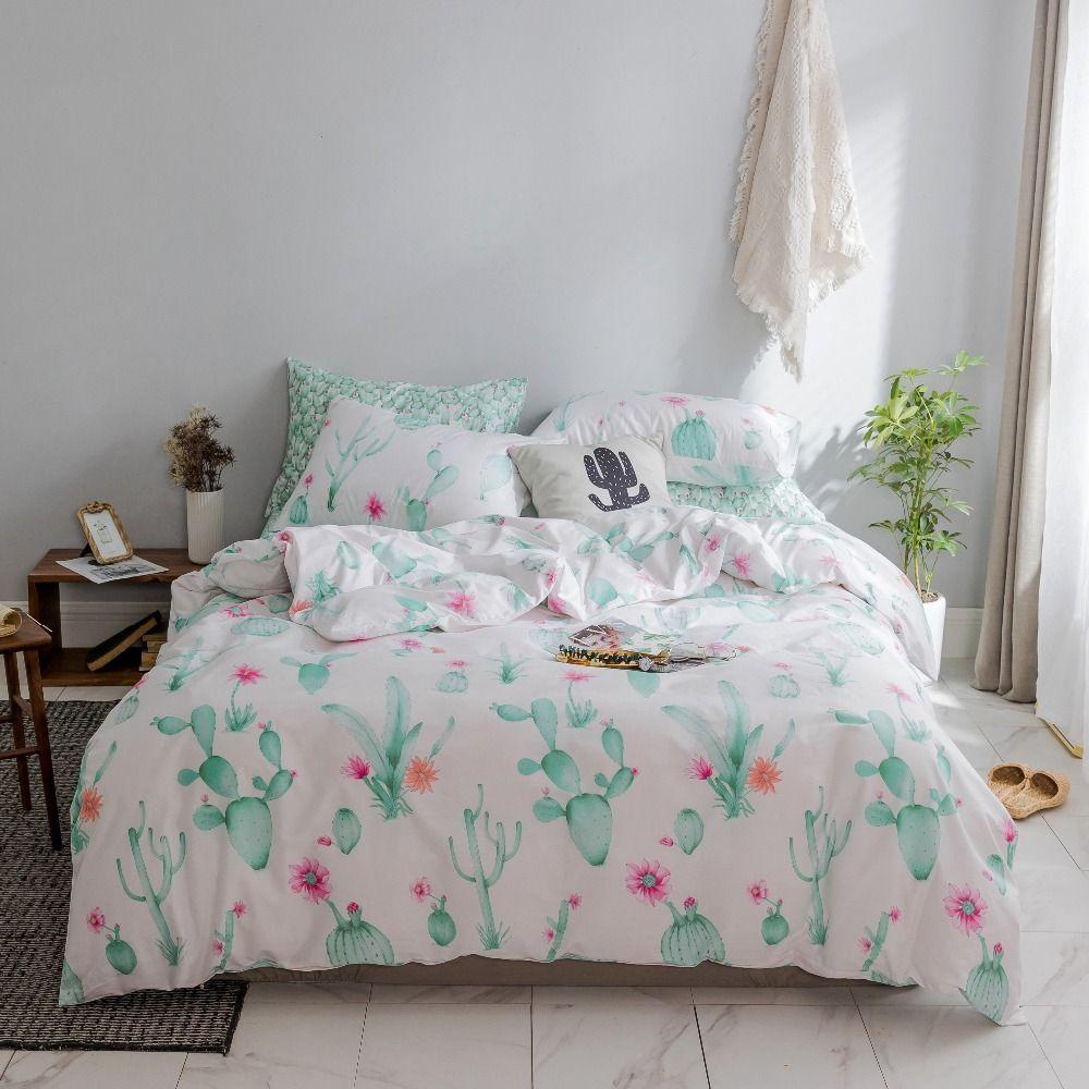 Flower Bedding Set Cotton Duvet Cover Set Princess Bedding Set Queen Size Bedding Bed Cover Bed Sheet Set Queen Bedding Sets Bedding Sets Princess Bedding Set