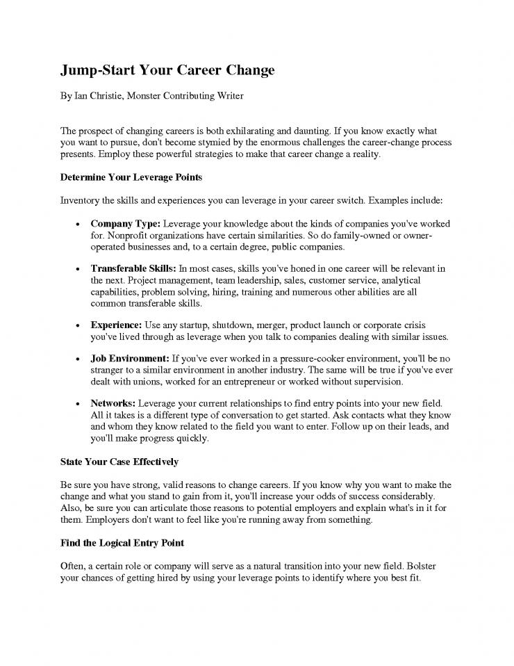 Resume Sample Method 20 Cover Letter Template For: Resume