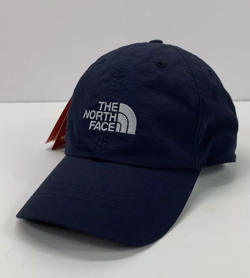 0a2387620fd150 The North Face Logo Nylon Performance Hat Navy Blue  fashion  clothing