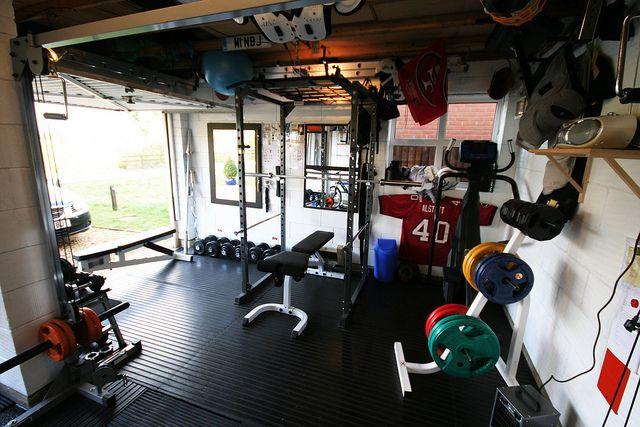 Img gym garage and workout