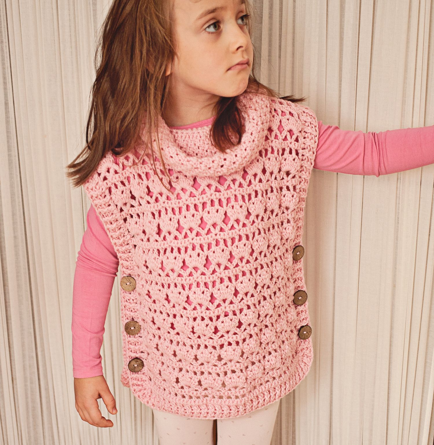 Pullover season - try our new crochet Poncho-Pullover! You will love ...