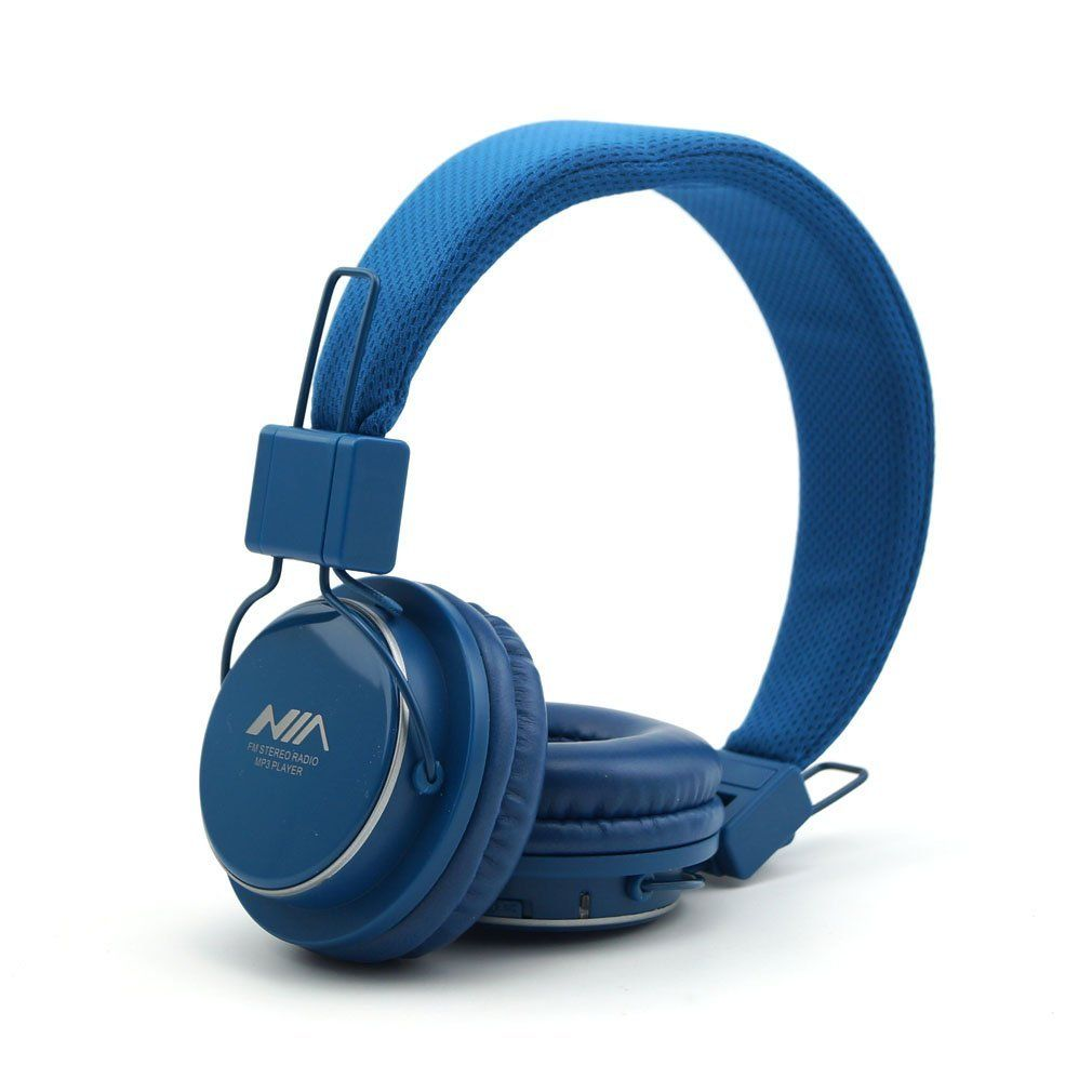 Amazon.com: GranVela A809 Lightweight Foldable Stereo Headphones Adjustable Headband Kids Headsets with Built-in FM Radio, Micro SD…