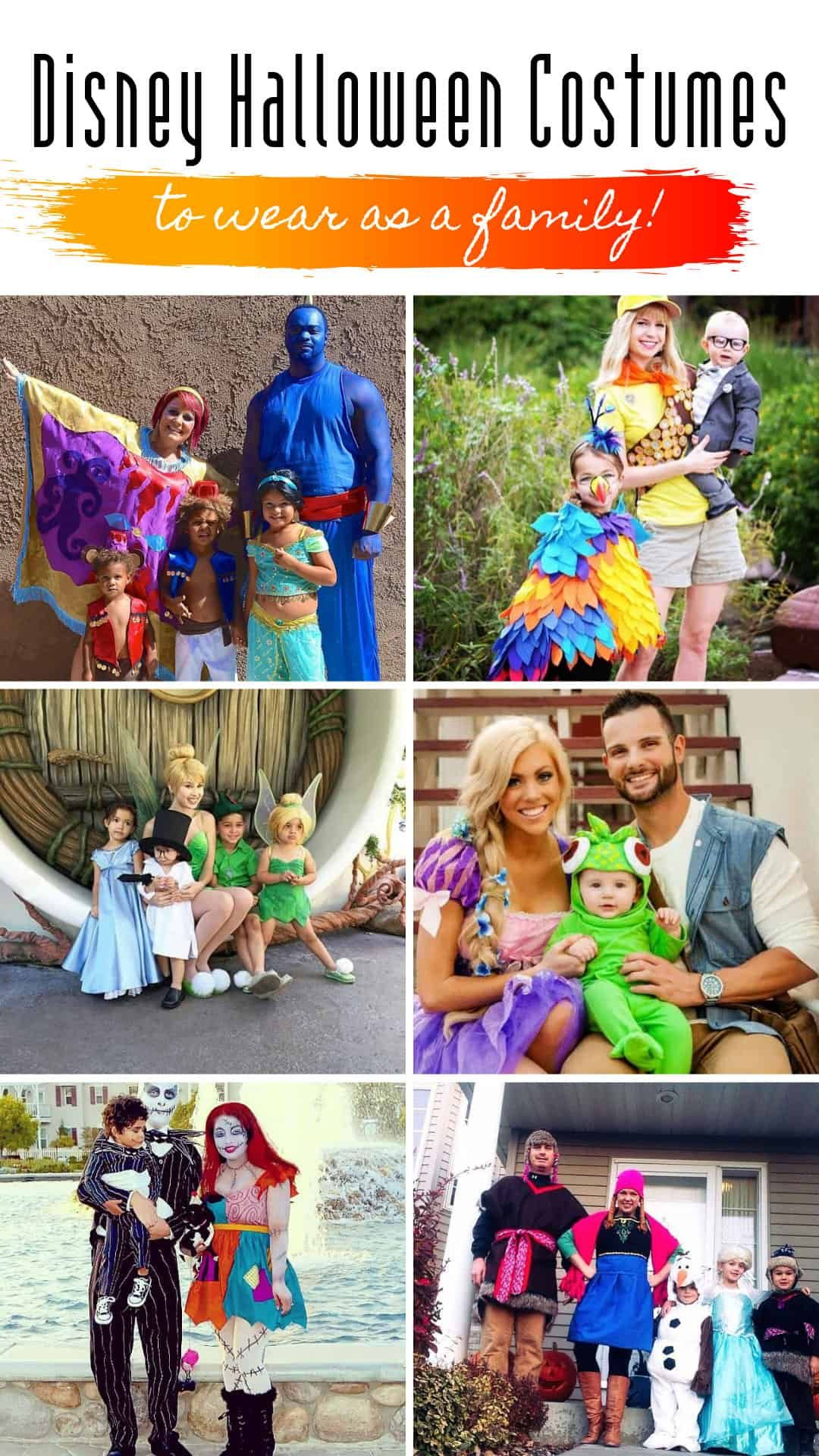 Family Disney Halloween Costumes Inspired By Your Favorite Movies Family Themed Halloween Costumes Frozen Halloween Costumes Disney Family Costumes