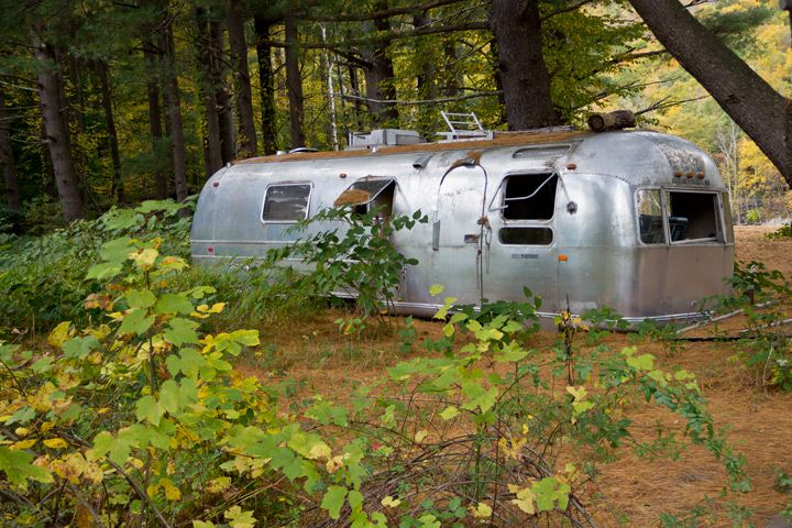 An Old Beat Up Airstream Gets An Amazing Overhaul Vintage