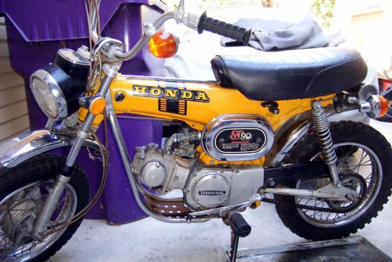Honda St90 Custom Mini Bike Honda Mini Bike