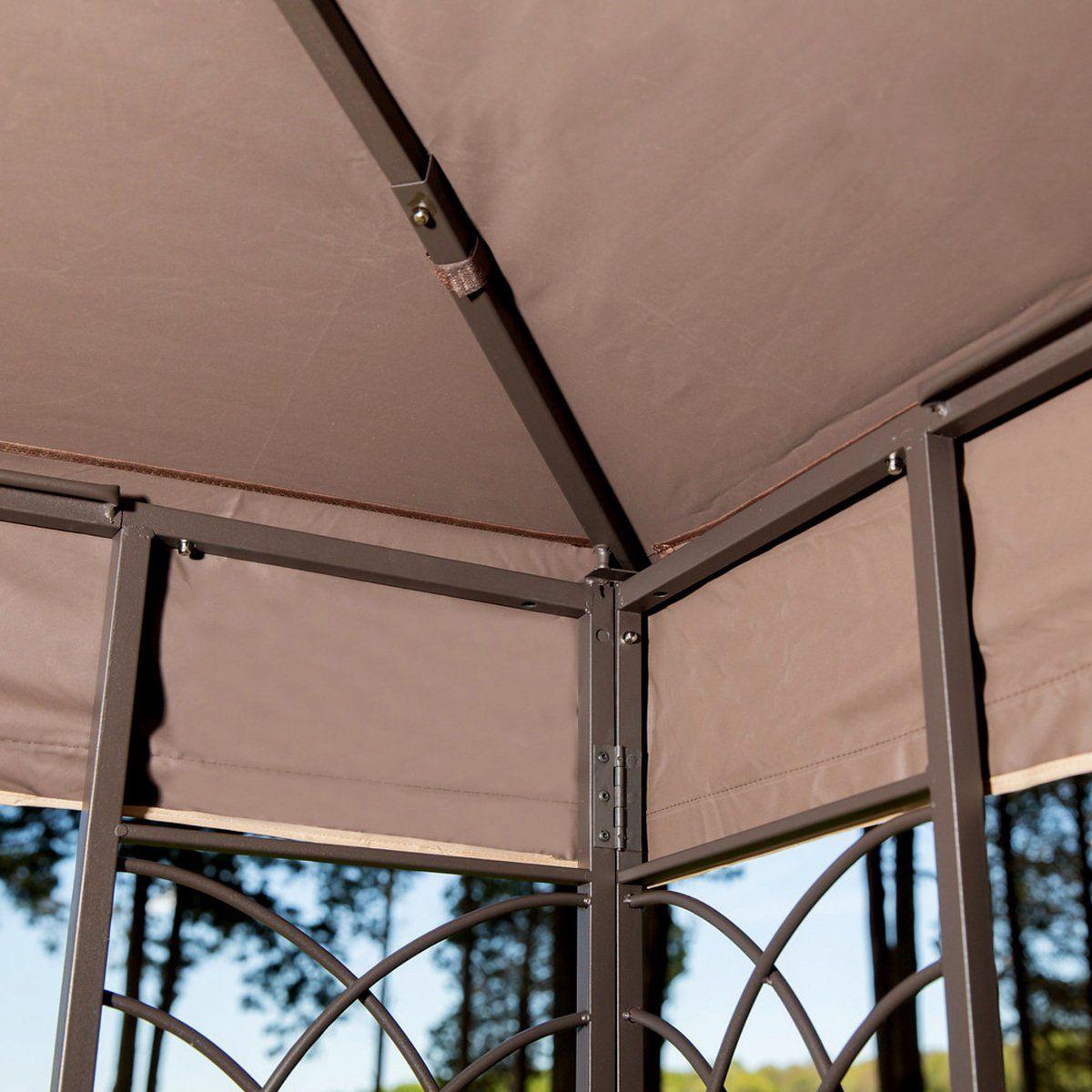 10 X 12 Regency Ii Patio Gazebo With Mosquito Netting Sunjoy Https Www Amazon Com Dp B00k6pd3bw Ref Cm Sw R Pi Dp X 8vbsybj5 Gazebo Patio Gazebo Patio Canopy