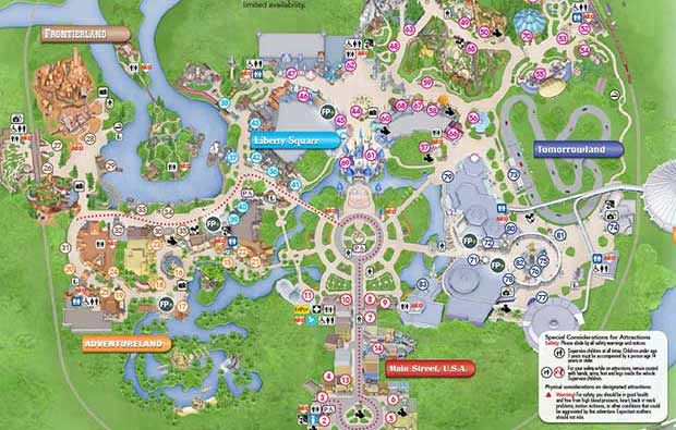 ALL the WDW maps including parks & resorts, etc. constantly being ...