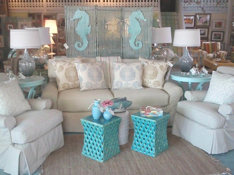 Charming Key West Style Decorating | Some New Pieces In The Shop Were Just Pulled  Together For