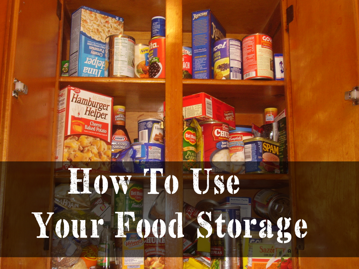 This week is all about How To Use Your Food Storage. It is a follow & This week is all about How To Use Your Food Storage. It is a follow ...