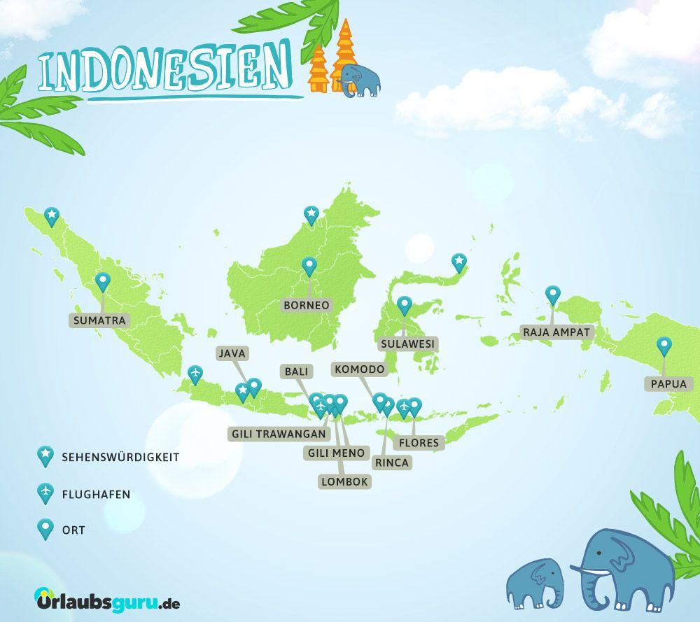Indonesien Guide Inseln Reisetipps Mehr Urlaubsguru Indonesien Urlaub Indonesien Indonesien Reisen