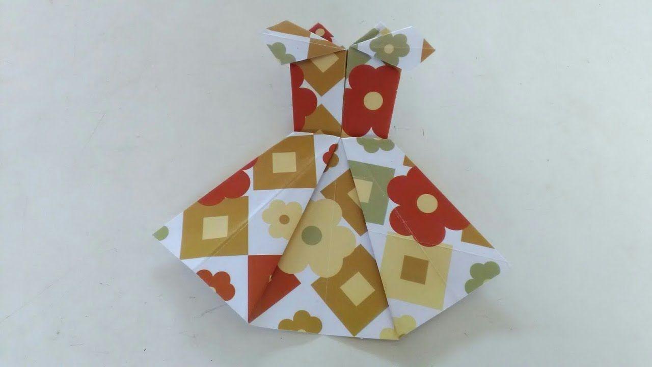 Origami Melipat Baju