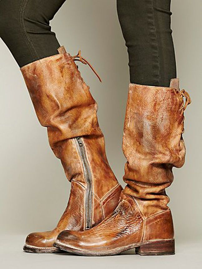 78f3ceeff737 BED STU MANCHESTER 8.5 Free People Tall Boot Tan Lux - Rustic Knee ...