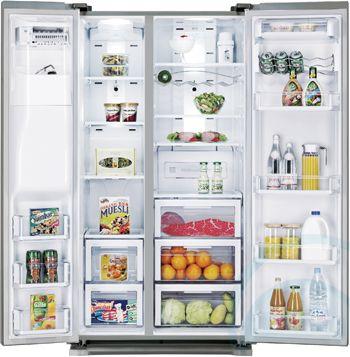 691l Samsung Side By Side Frid Appliances Online American Style Fridge Freezer Fridge Freezers Side By Side Refrigerator