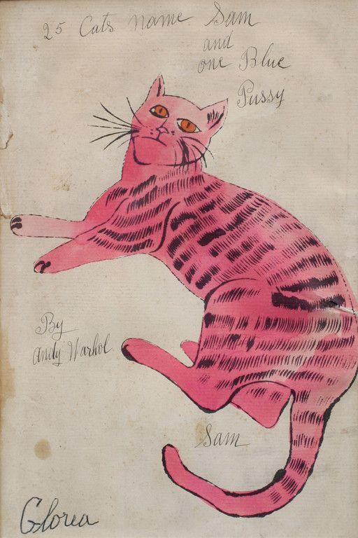 ...Andy Warhol--1954.