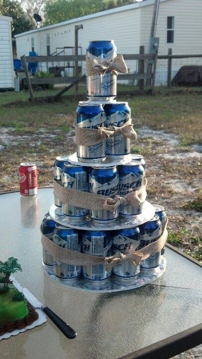 Grooms Cake Except With Bud Light Of Course Wedding 21st Birthday Cakes