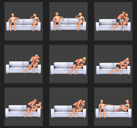 Couple pose Fucking in different