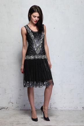 Black dress zelda 30th