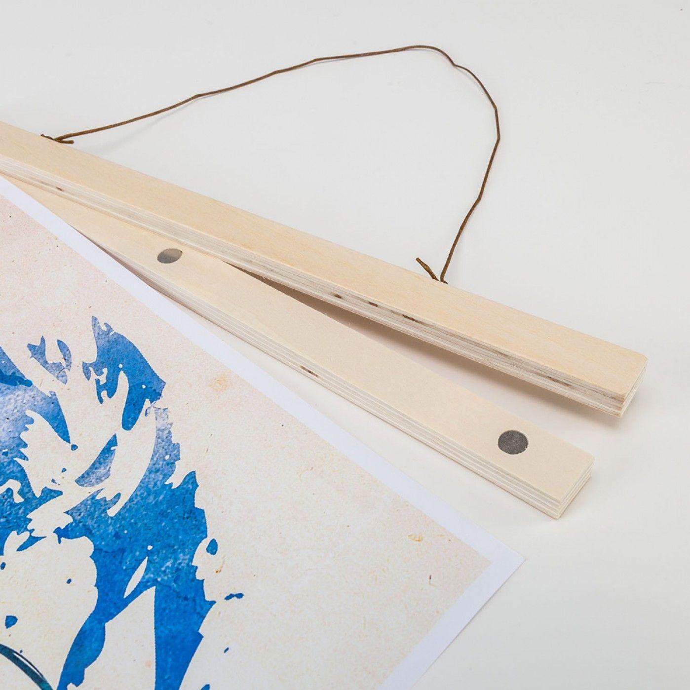 Posterhänger aus Holz   Holz, Rahmen und Praktisch