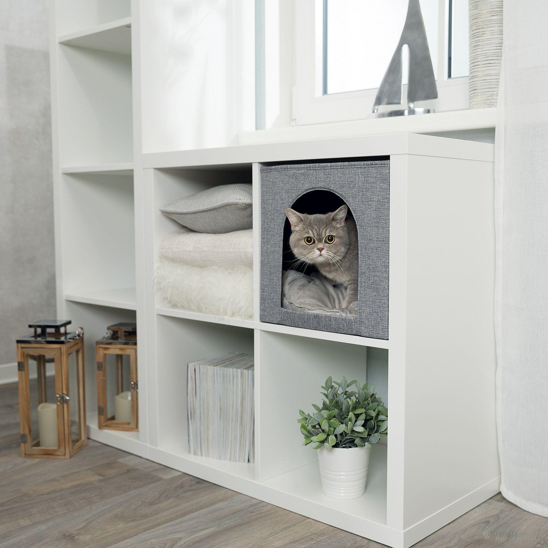 Handig Past In Kalax Expedit Ikea Kast Too Cute Cats