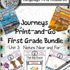This supplemental workbook bundle  provides extra practice to go along with Journeys Unit 3:  Nature Near and Far.  The engaging activities provide...