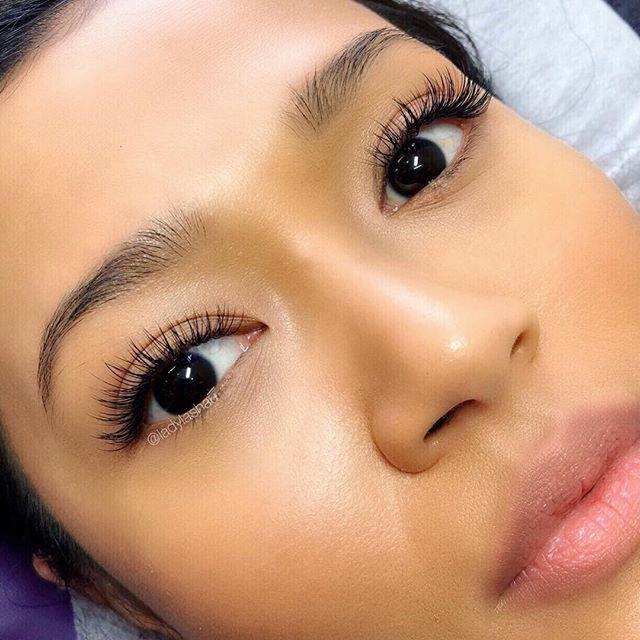 ️ ️ #EyelashExtensionsTips | Natural eyelash extensions ...