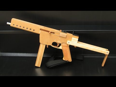 Tutorial Full Auto Mag Fed Rubber Band Gun Youtube