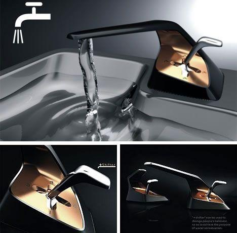 Funky Faucets 14 Futuristic Faucet Sink Basin Designs