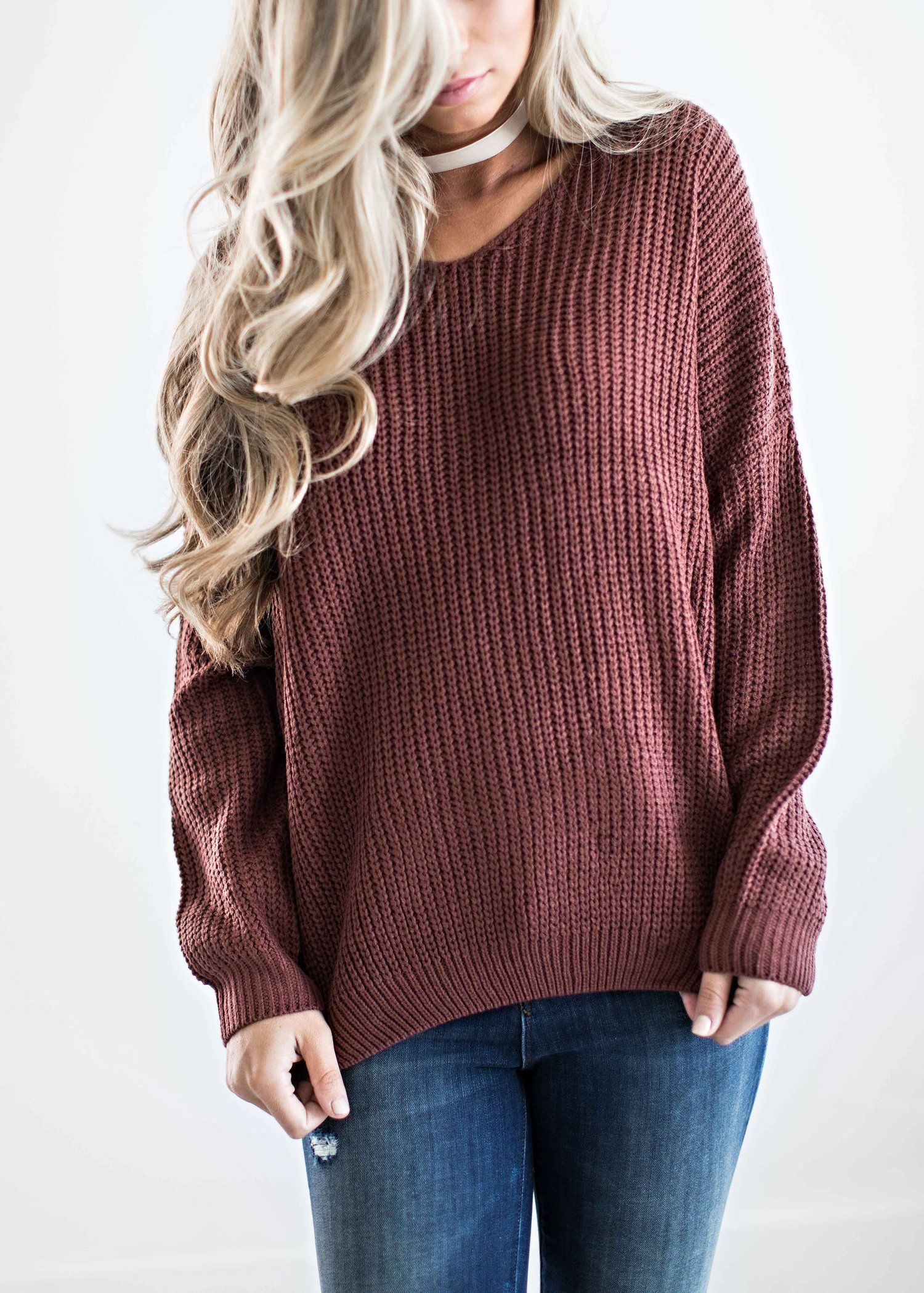 knit sweater, fall style, fall fashion, womens fashion, shop ...
