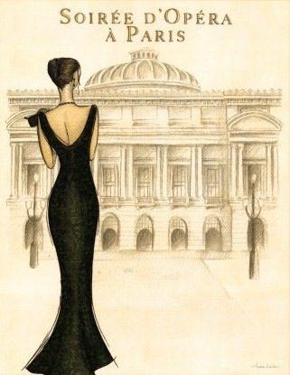 Soiree d'Opera à Paris