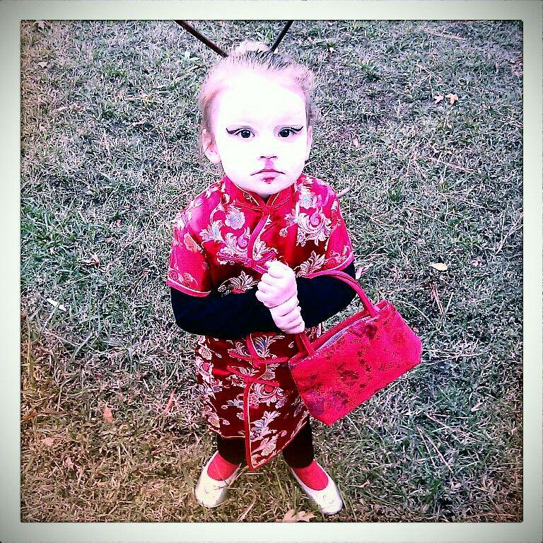 Kids Halloween costume//cute creative girls Halloween