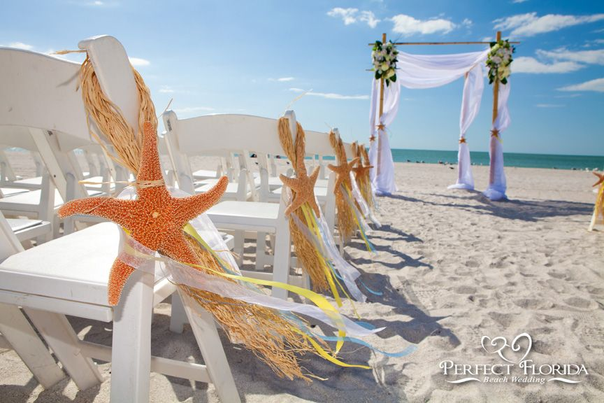 The White Elegance Beach Wedding Decor Package Features A Simple But