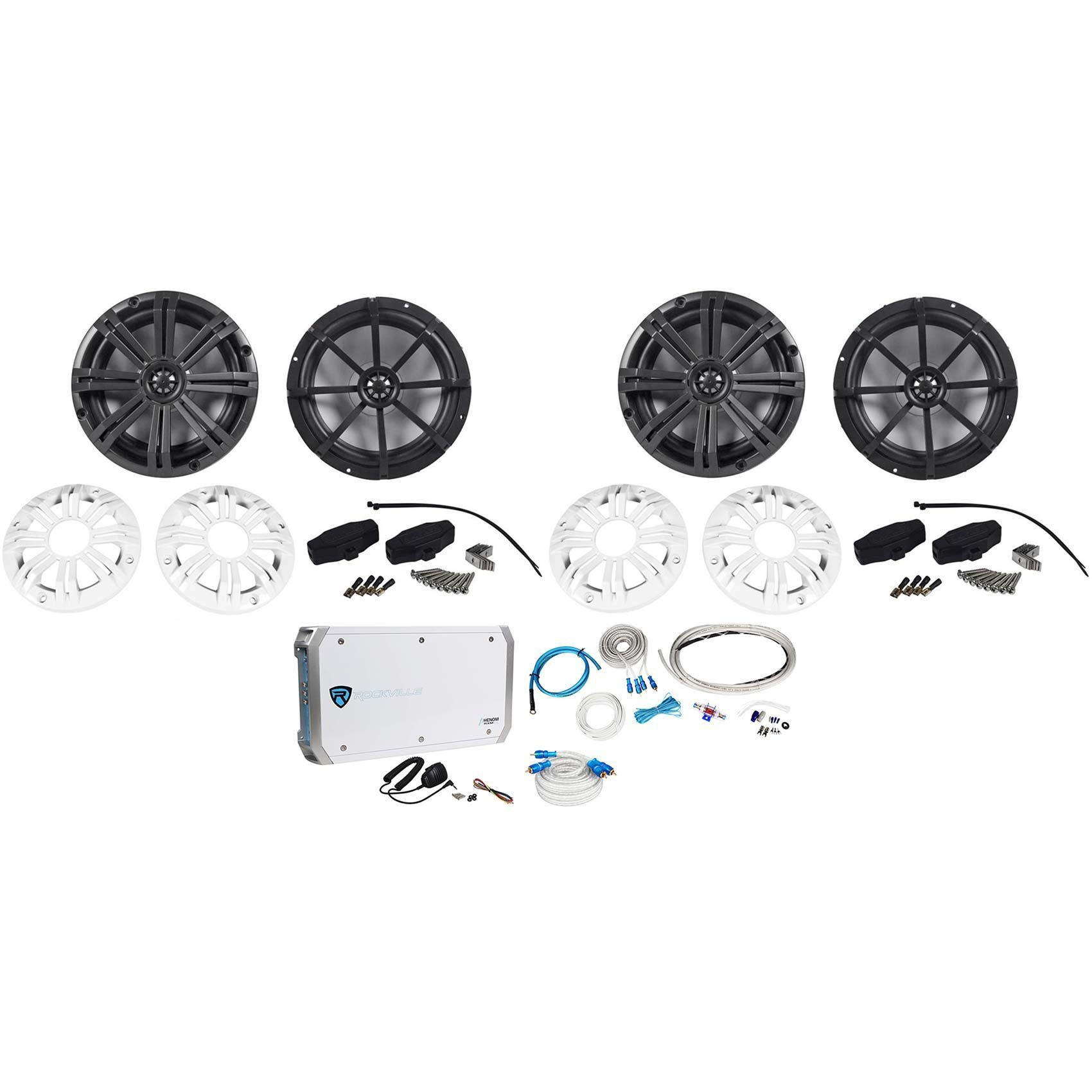 2 pairs kicker led 1200w 8 marineboat speakers4 channel 2 pairs kicker led 1200w 8 marineboat speakers4 channel sciox Image collections